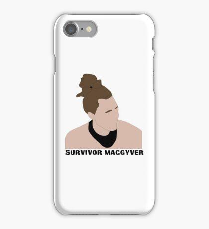 Survivor MacGyver iPhone Case/Skin