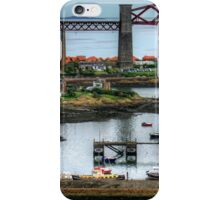 North Queensferry Harbour iPhone Case/Skin