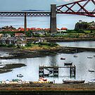 North Queensferry Harbour by Tom Gomez