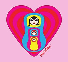 Matryoshka Missydoll is never alone by missydoll