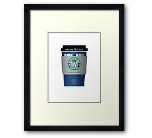 DR COFFEE 1 Framed Print