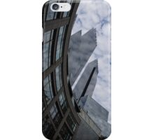 Hugging the Clouds at Columbus Circle - Manhattan, New York City iPhone Case/Skin