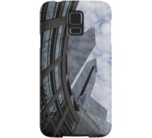 Hugging the Clouds at Columbus Circle - Manhattan, New York City Samsung Galaxy Case/Skin