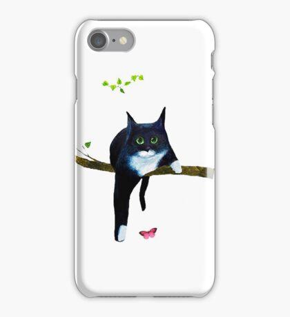 Cute Tuxedo Cat iPhone Case/Skin