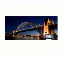 Bridge by Night Art Print