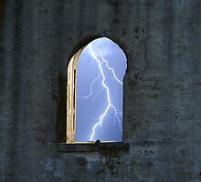 lightning Window by David Wilson