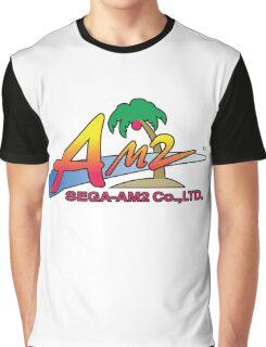SEGA AM2 LOGO YU SUZUKI Graphic T-Shirt