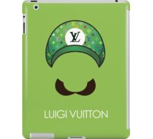 Luigi Vuitton iPad Case/Skin