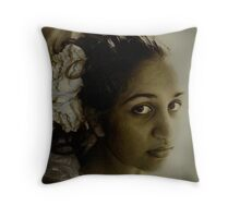 bygone Throw Pillow