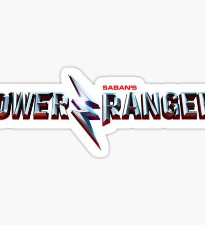Power Rangers Movie - Logo Sticker