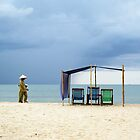 On the beach in Vietnam by Adam Seward