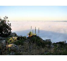 Fog Blanket - Mount Barker Photographic Print