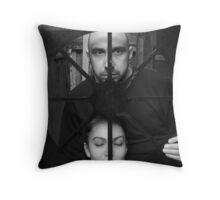 HE&SHE Throw Pillow