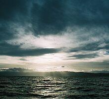 dark sunset by Kostandina Zafirovska