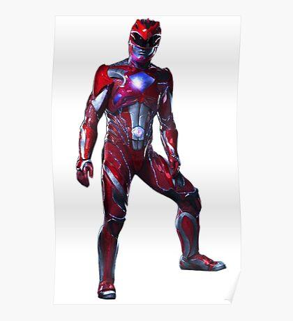Power Rangers Movie - Red Ranger Poster