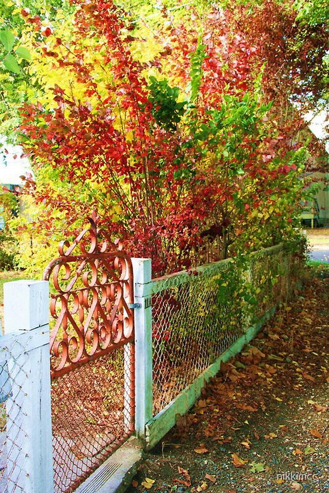 The Garden Fence by nikkimcc