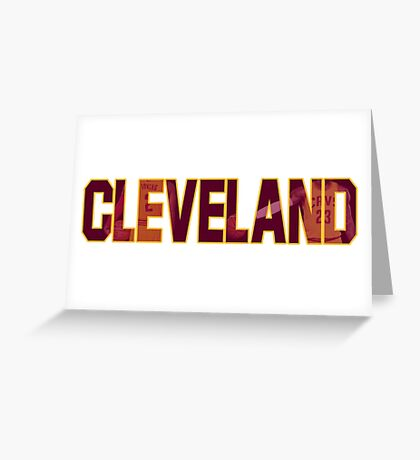 CLEVELAND (Cavaliers) Greeting Card