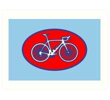 STP Bike Logo Art Print