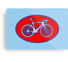 STP Bike Logo Metal Print