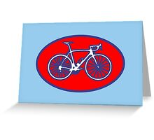 STP Bike Logo Greeting Card