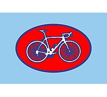 STP Bike Logo Photographic Print