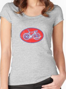 STP Bike Logo Women's Fitted Scoop T-Shirt