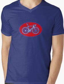 STP Bike Logo Mens V-Neck T-Shirt