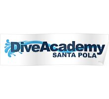 Dive Academy Logo (Light Objects) Poster