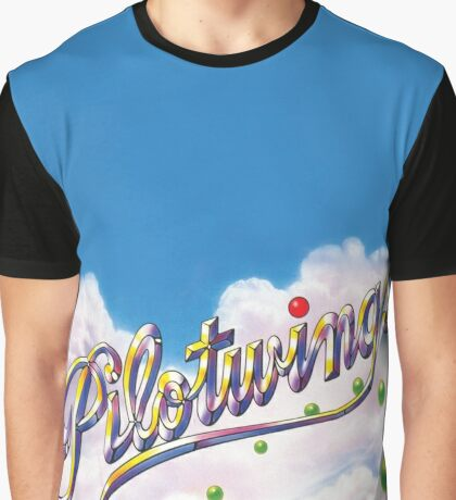 PILOTWINGS SNES EXTENDED ARTWORK Graphic T-Shirt