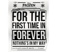 For the First Time in Forever Poster
