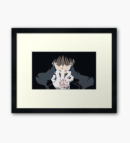 The Flame Alchemist Framed Print