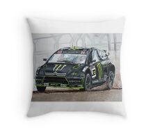 Liam Doran RallyCross Monster Citreon  Throw Pillow