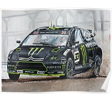 Liam Doran RallyCross Monster Citreon  Poster