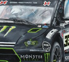 Liam Doran RallyCross Monster Citreon  Sticker