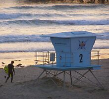 Catching the last Waves for the Day  by trin174