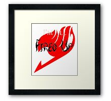 Fired Up! [Fairy Tail] Framed Print