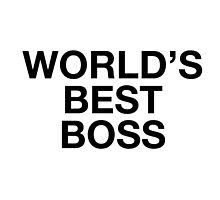 World's Best Boss Mug by talkpiece