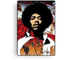 Jimi Hendrix Canvas Print