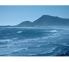 OCEAN COLOUR BLUE Photographic Print