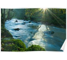 Sun Dappled River Lyvennet Poster
