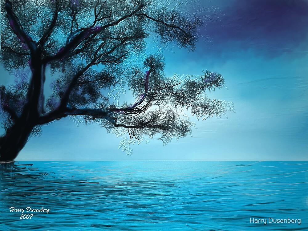 Blue Tree by Harry Dusenberg