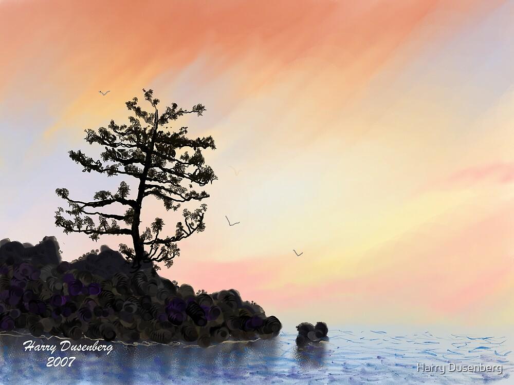 Sunset Bay by Harry Dusenberg