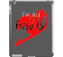 Fired Up! [Fairy Tail] iPad Case/Skin
