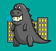 Cute Dino by eduwar
