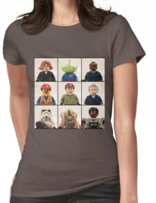 Portrait Collection 1 Womens Fitted T-Shirt