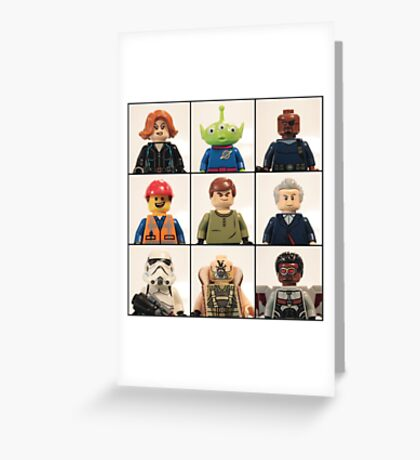 Portrait Collection 1 Greeting Card