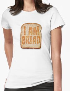 I am Bread 'Toast' logo - Official Merchandise Womens Fitted T-Shirt