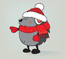 Is that Santa !?! by mangulica