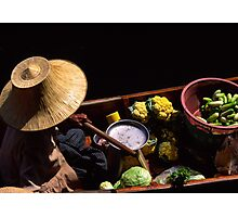Veggie vendor Photographic Print