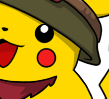 Teemo Pikachu Sticker
